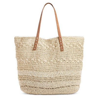 Women's Soft Straw Tote Natural - Merona™