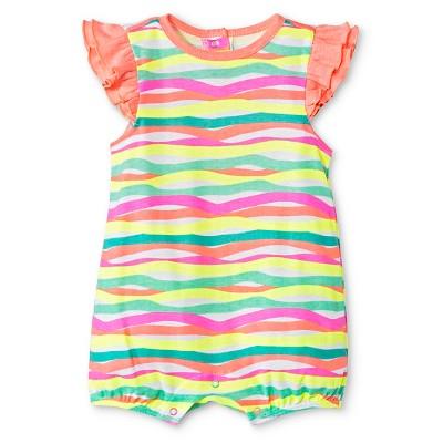 Oh Joy!® Newborn Romper - Multi Stripe 6-9M