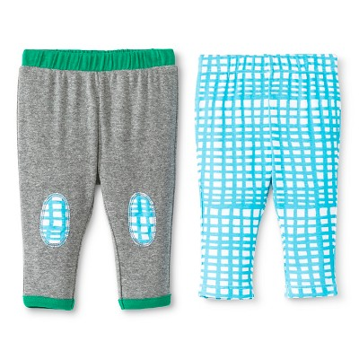 Oh Joy!® Newborn 2 Pack Pant Set - Grid 0-3M