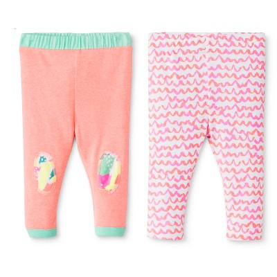 Oh Joy!® Newborn 2 Pack Pant Set - Scallops 0-3M