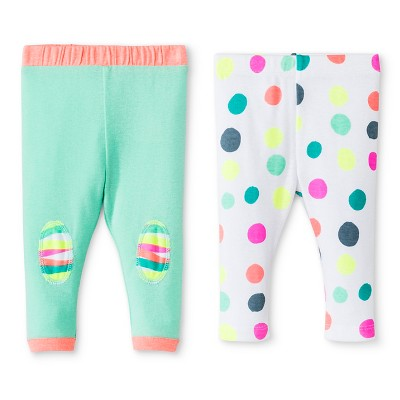 Oh Joy!® Newborn 2 Pack Pant Set - Dotty 0-3M