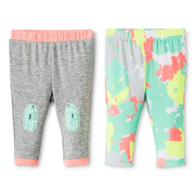 Oh Joy!® Newborn 2 Pack Pant Set - Painted Camo 6-9M