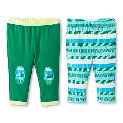 Oh Joy!® Newborn 2 Pack Pant Set - Multi-Stripe 0-3M