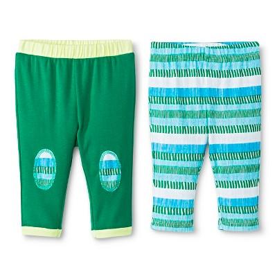 Oh Joy!® Newborn 2 Pack Pant Set - Multi-Stripe 3-6M