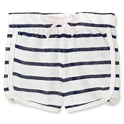 Baby Girls' Jogger Short White 12M - Cherokee®