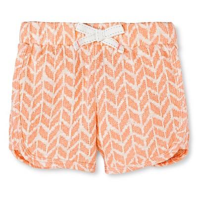 Baby Girls' Jogger Short Orange 12M - Cherokee®