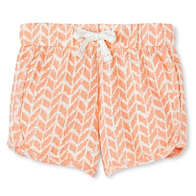Toddler Girls' Jogger Short Orange 4T - Cherokee®
