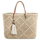 Women's Natural Structured Tote Natural - Merona™