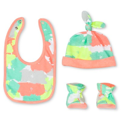 Oh Joy!® Newborn Bib, Hat & Slipper Set - Painted Camo OSFM