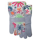 Ladies Suede Cowhide Leather Palm Glove - Size 8