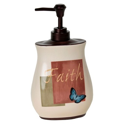 Cherish Stoneware Lotion Dispenser