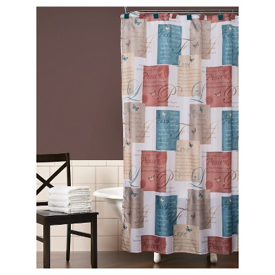 Cherish Fabric Shower Curtain