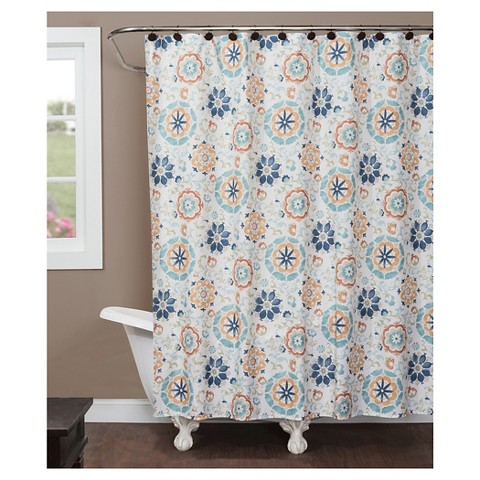 renee fabric shower curtain product details page