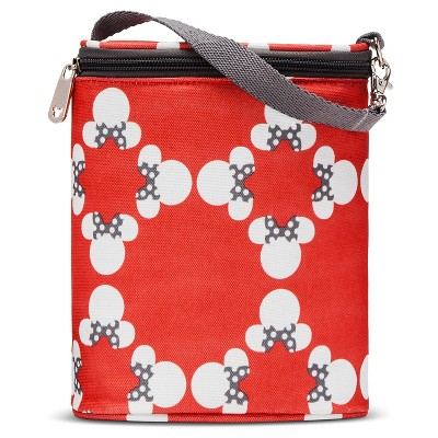 Disney Double Bottle Holder Diaper Bag Accessory- Minnie Mouse