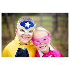 Great Pretenders Reversible Super Hero Set - Blue and Yellow