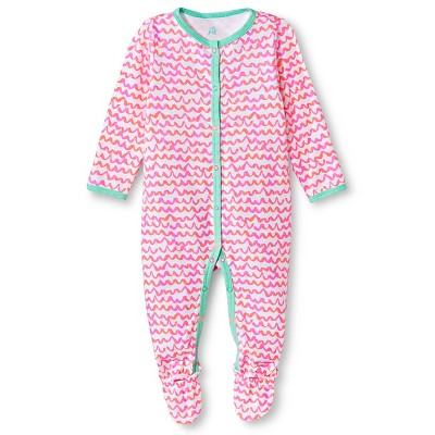 Oh Joy!® Newborn Sleep N Play - Pink Scallops 6-9M