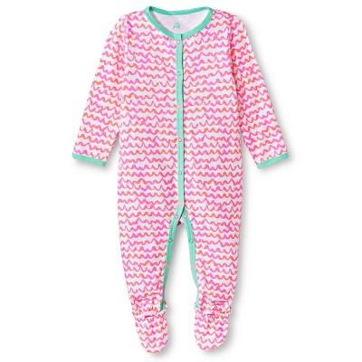 Oh Joy!® Newborn Sleep N Play - Pink Scallops 6-9M