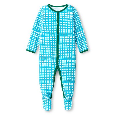 Oh Joy!® Newborn Sleep N Play - Blue Grid 0-3M