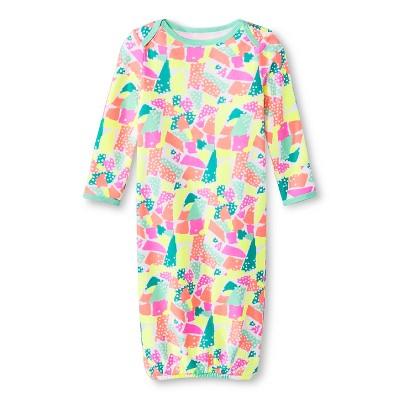 Oh Joy!® Newborn Nightgown - Torn Paper 0-3M