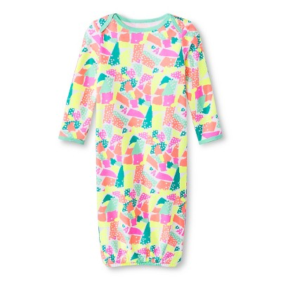Oh Joy!® Newborn Nightgown - Torn Paper 6-9M