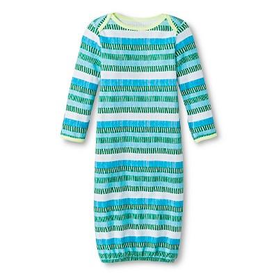 Oh Joy!® Newborn Nightgown- Multi Stripe 0-3M
