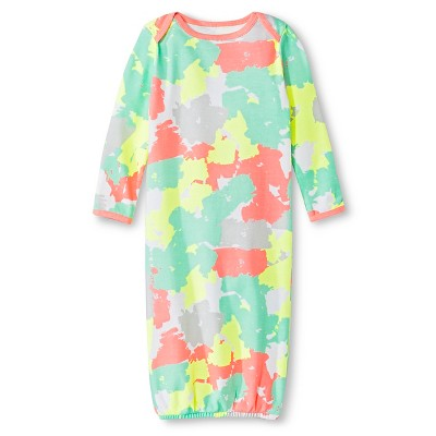 Oh Joy!® Newborn Nightgown - Painted Camo 0-3M