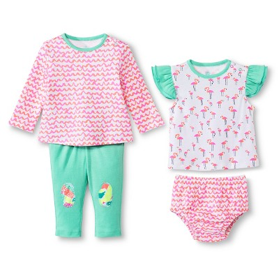 Oh Joy!® 4 Piece Set - Flamingo 0-3M