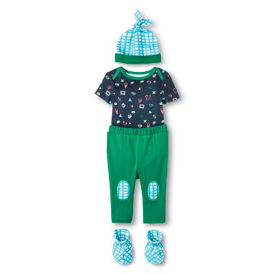 Oh Joy!® Newborn Gift Box Bundle - Dark Blue 3-6M