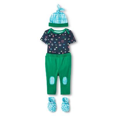 Oh Joy!® Newborn Gift Box Bundle - Dark Blue 6-9M