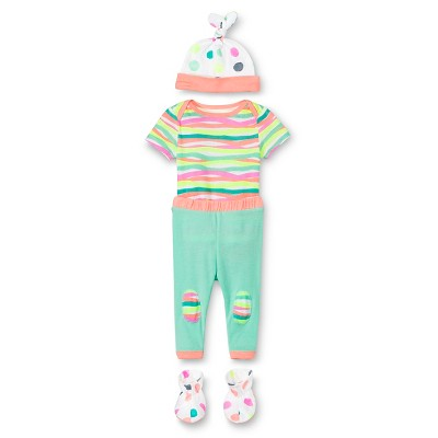 Oh Joy!® Newborn Gift Box Bundle - Dotty/Multi Stripes 6-9M