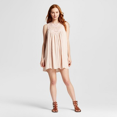 Crochet Shift Dress Peach XXL - Mossimo Supply Co.