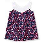 Baby Girls' Floral Cover Up Dress Nightfall Blue 12M - Circo™