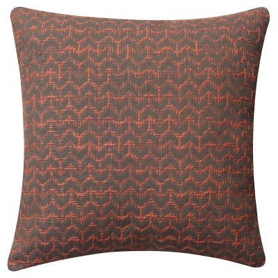 Throw Pillow Coral Arrow Stitch Room Essentials