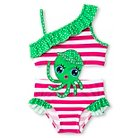Toddler Girls' One Piece  Octopus connector  -Green 3T