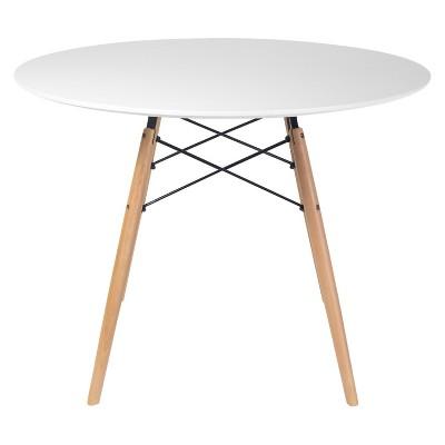 Paris Round Dining Table - White