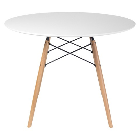 Paris Round Dining Table White Product Details Page