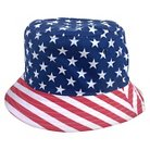 Concept One Men's Americana Bucket Hat Navy - One Size