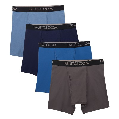 Men's Fruit of the Loom® Boxer Brief Select breathable Assorted - L