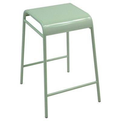Metal Counter Stool Chillout Sage - Room Essentials™