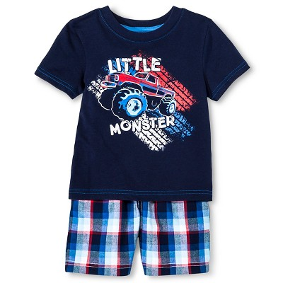 Baby Boys' T-Shirt and Short Set - Navy Voyage 12M - Circo™