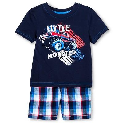 Toddler Boys' T-Shirt and Short Set - Navy Voyage 4T - Circo™