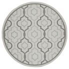 "Safavieh Lorient Outdoor Rug - Light Grey / Anthracite (2'3"" X 10')"