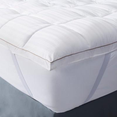 Premium Down Alternative Mattress Topper (Full) White - Fieldcrest™