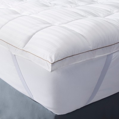 Premium Down Alternative Mattress Topper (California King) White - Fieldcrest™
