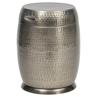 Bombay® Outdoors Silver Madras Drum Side Table