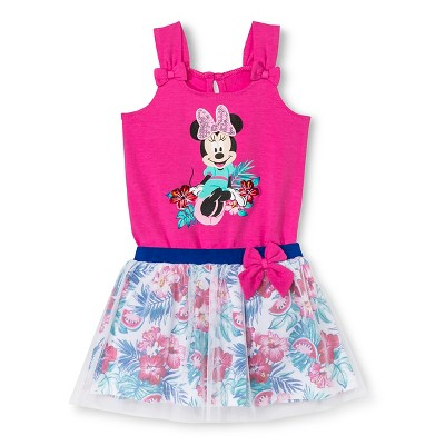 Disney Minnie Mouse Newborn Girls' Tutu Set - Pink 12M