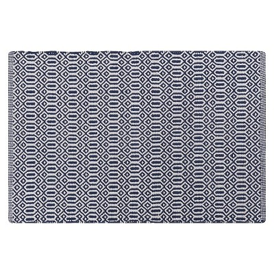 Bazaar Kitchen Mat - Indigo Blue