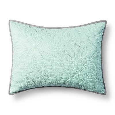 Disco Medallion Pillow Sham Mint  - Xhilaration™
