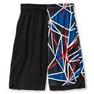 Boys' Printed Premium Basketball Shorts Black Americana XS - C9 Champion®