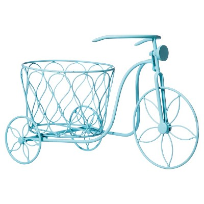 Tricycle Planter Blue - Evergreen